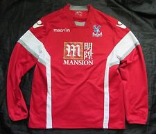 CRYSTAL PALACE Training Jacket Sweat Top Macron 2015-2016 The Eagles men SIZE M