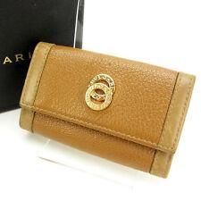 Bvlgari Key holder Key case Brown Woman Authentic Used C1110