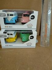 4Pcs Model Car Metal Diecast Toy Vehicle Kids Collection Pull Back