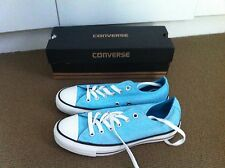 brand new light blue converse all stars size 5