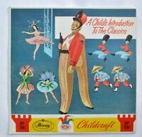 CHILD'S INTRODUCTION TO THE CLASSICS Childcraft Mercury Record LP 1950s CHILDREN