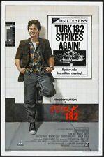 TURK 182 - 1985 - original 27x41 movie poster - TIMOTHY HUTTON, KIM CATTRALL