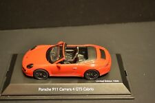 Porsche 911 Carrera 4 GTS (991) Cabrio 2014 Schuco diecast vehicle in scale 1/43
