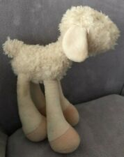 "AIR PUPPY CUDDLE CREW LONG LEGGED  SHEEP /LAMB SOFT TOY 11"""