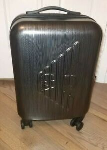 *SAVE $245+* Emporio Armani Luggage Carry-On Wheeled Trolley. ABS Hard shell NWT