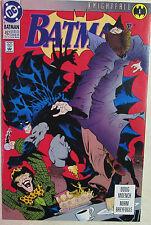 DC Comics - BATMAN Issue #492 Copper Age 1980s - Platinum Variant Issue
