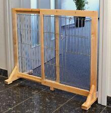 Trixie Hunde Absperrgitter Schutzgitter Schutz Zaun Welpe Treppen Gitter faltbar