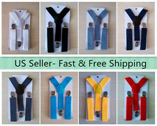 NEW Y Back  Elastic Suspender for Boys Girls Kids - Ship from USA