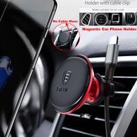 Baseus 360° Magnetic Car Phone Holder Air Vent Mount Universal Bracket GPS Stand