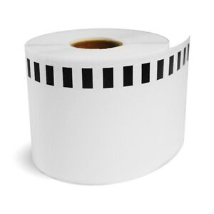 """20 Rolls of DK-2205 BROTHER® Compatible Tape 2-3/7"""" x 100' (Without Holder)"""