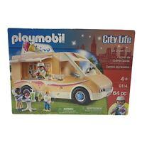 Playmobil 9114 City Life Ice Cream Truck New