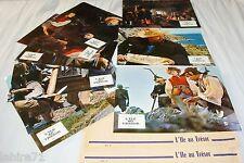 L'ILE AU TRESOR !  jeu 12 photos cinema lobby cards fantastique 1972