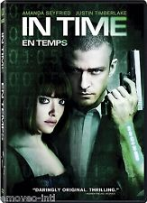 IN TIME (JUSTIN TIMBERLAKE) *NEW DVD*