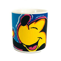 "Applause Mickey Mouse Coffee Mug Cup 3 3/4"" Tall"