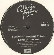 CLIMIE FISHER  - Love Changes (Everything) - EMI