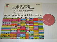 LP/BEETHOVEN/SYMPHONY 2/LEINSDORF/RCA LSC 3032