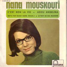 NANA MOUSKOURI FRENCH EP - C'EST BON LA VIE + 3