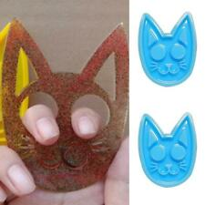 Epoxy Jewelry Casting,Silicone Mould Making Tools for Craft Making Supplies Self-Defense Cat Keychain Mold with Keychain A Epoxy Resin Mold,Super Glossy Polymer Clay Crafts Pendant