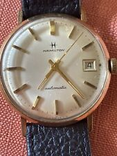 Vintage GF 10k HAMILTON Automatic Watch 1960s Recently SERVICED