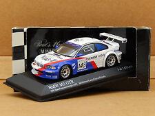 1/43 BMW M3 GTR 24h Spa 2004 #143 Minichamps 400 042393 Mollekens/Lamy/Garcia