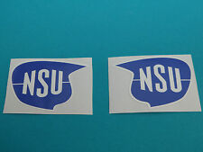 NSU logo Quickly Set Autocollant Décalcomanie Logo Sticker Tank