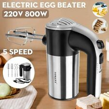 Electric Food Mixers Blender Dough Egg Beater Spiral Whisk Kitchen Cooking Tool