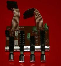 Saba 9141-Ersatzteil-Schalterplatine für leise 20dB, präsenz, linear und muting