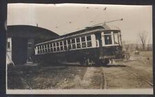 REAL PHOTO SNAPSHOT SCHENECTADY RAILWAY # 562 TROLLEY 1920'S?