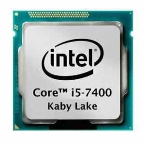 Intel Core  i5-7400 / 4 x 3,0 GHz /  6 MB / LGA 1151 / Skylake  Prozessor