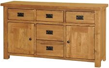 Delaware solid oak furniture living dining room sideboard