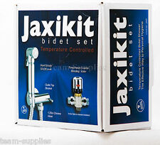 JAXI THERMOSTATIC CHROME BRASS BIDET DOUCHE MUSLIM HAND SHOWER SHATTAF KIT SET