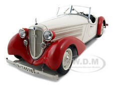 1935 AUDI 225 FRONT ROADSTER RED/WHITE 1/18 DIECAST MODEL CAR BY CMC M075C