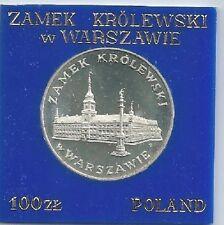 Poland / Polen - 100zl Royal Castle in Warsaw