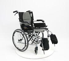 Karman Ergo Flight Wheelchair S-2512 with QUICK RELEASE WHEELS 19.8 lb 18x17
