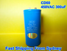 CD60 450VAC 300uF 50Hz Air Conditioner Appliance Motor Capacitor **NEW**