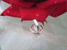 925 Silber Eckige Klapp-Creolen 13,5 mm ° Geometrische Ohrringe Paar Preis
