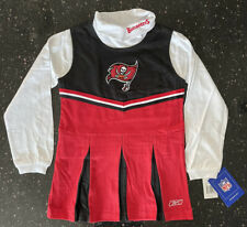 Tampa Bay Buccaneers NFL Reebok Cheerleader Outfit - Girls - New with Tags