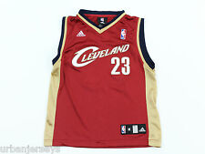 Cleveland Cavaliers Lebron James #23 Youth Jersey by Adidas - Size M Lenth+2