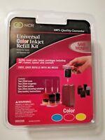 NCR Universal Color Inkjet Refill Kit