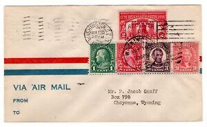 #627 Sesquicentennial Expo 1926 FDC - Washington DC  Nickles Combo
