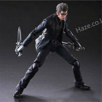 Final Fantasy XV Play Arts Kai Ignis Scientia Figure With Box New