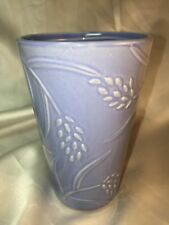 Crabtree & Evelyn Bathroom Cup~Ceramic~ Floral Motif