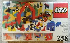 Lego 258 Vintage ZOO  - w/ BOX & INSTRUCTIONS- 1970's