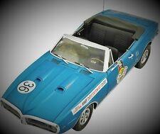 "1 1967 Pontiac Firebird SignedBy ""Miss Hurst GTO"" 24 Racer 12 Metal 18 Car 43"