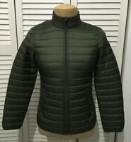 Brooks Brothers Men's Full Zip Jacket Down Puffer THERMORE Insulated Size Small