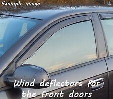 Wind deflectors for Nissan Qashqai 1 J10 2006-2013 SUV Offroad 5doors front