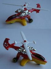 Hot Wheels - Sky Knife rot/gelb Hubschrauber / Helicopter