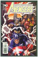 Avengers #56 VF/NM Marvel Comics 2002 Captain America, Thor & Iron Man Cover