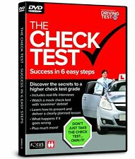 The Check Test - Success in 6 Easy Steps - Driving Test - DVD - NEW