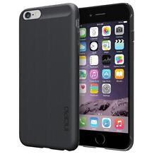 Incipio Feather Shine Case Cover for iPhone 6/6s Plus Metal Aluminium Black NEW